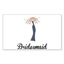Elegant Bridesmaid Decal