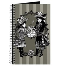 Girls With Headless Doll Journal