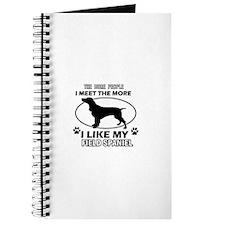 Field Spaniel doggy designs Journal