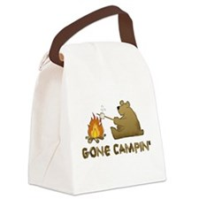 GoneCampin.png Canvas Lunch Bag