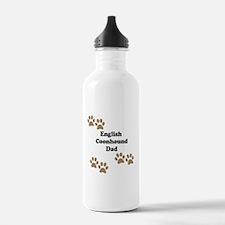 English Coonhound Dad Water Bottle