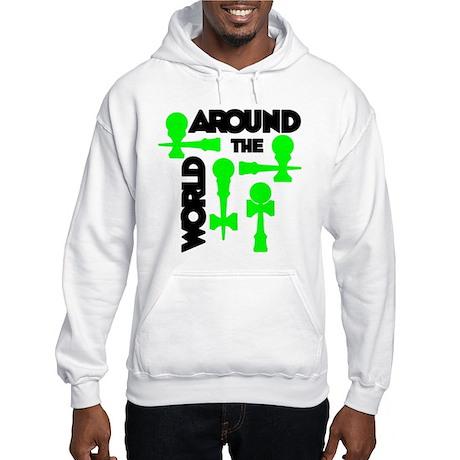 Around the World Hooded Sweatshirt