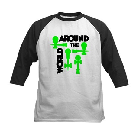 Around the World Kids Baseball Jersey