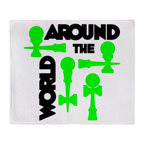 Around the World Throw Blanket