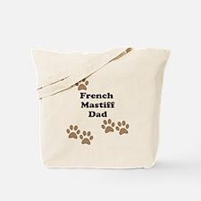 French Mastiff Dad Tote Bag
