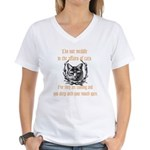 Affairs of Cats Women's V-Neck T-Shirt