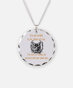 Affairs of Cats Necklace