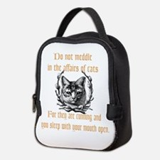 Affairs of Cats Neoprene Lunch Bag