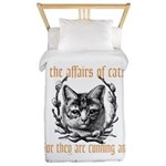 Affairs of Cats Twin Duvet