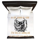 Affairs of Cats King Duvet