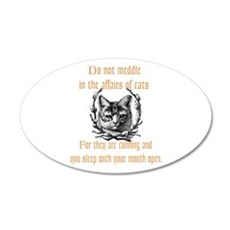 Affairs of Cats Wall Decal
