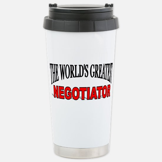 """The World's Greatest Negotiator"" Mugs"