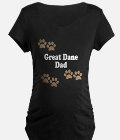 Great Dane Dad Maternity T-Shirt