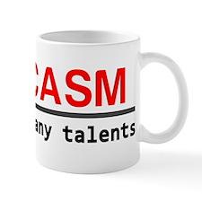 Sarcasm talent Mug