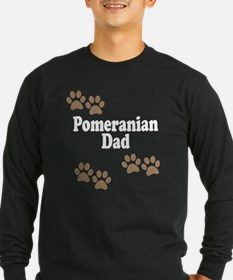 Pomeranian Dad Long Sleeve T-Shirt