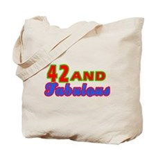 42 and fabulous Tote Bag