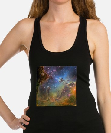 Eagle Nebula (High Res) Racerback Tank Top