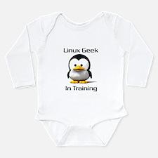 Linux Geek In Training Body Suit
