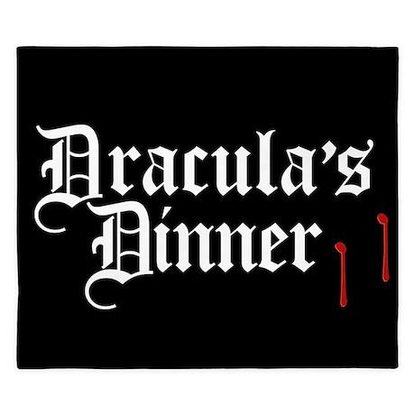 Dracula's Dinner King Duvet
