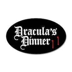 Dracula's Dinner Wall Decal