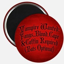 Vampire Wanted Magnet