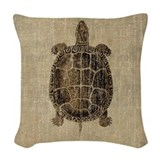 Turtle Woven Pillows