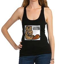 Beavers Rock Racerback Tank Top