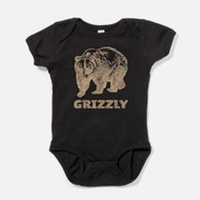 Vintage Grizzly Baby Bodysuit