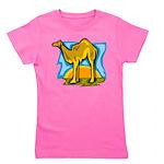 Camel Girl's Tee