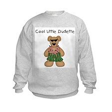 Cool Little Dudette Sweatshirt