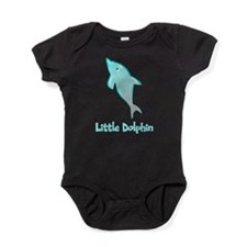Little Dolphin Baby Bodysuit