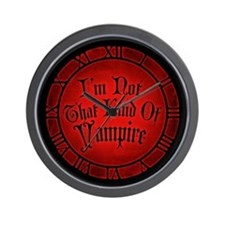 im-not-that-kind-of-vampire_cl.jpg Wall Clock
