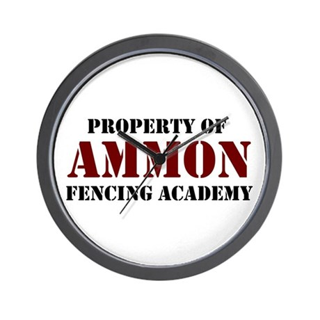 Ammon Fencing Academy Wall Clock