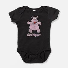 Got Hippo? Baby Bodysuit