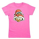 Christmas Penguin Girl's Tee