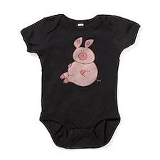 Cute Pig Baby Bodysuit