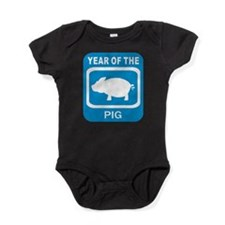 Year Of The Pig Baby Bodysuit