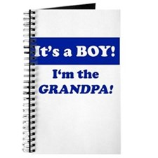 It's A Boy! I'm The Grandpa Journal
