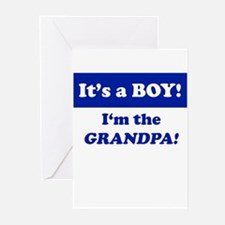 It's A Boy! I'm The Grandpa Greeting Cards (Packag