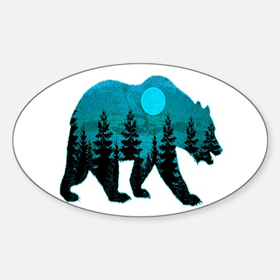A BLUE MOON Decal