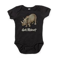Got Rhino? Baby Bodysuit