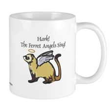 Ferret Angels Mug Christmas Gift