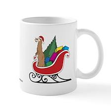 Santa Ferret Holiday Mug