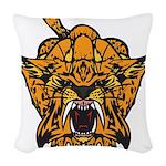 Fierce Tiger Woven Throw Pillow