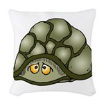 Cute Turtle Woven Throw Pillow