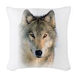 Wolf Throw Pillows