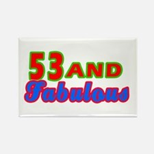 53 and fabulous Rectangle Magnet