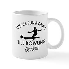 Unique Bowling designs Mug