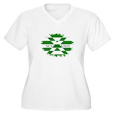 SCOTLAND GREEN Plus Size T-Shirt