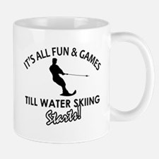 Unique Water Skiing designs Mug
